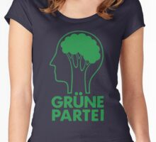 GRUNE PARTEI Women's Fitted Scoop T-Shirt
