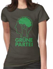 GRUNE PARTEI Womens Fitted T-Shirt
