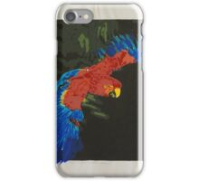 First Flight - Scarlet Macaw iPhone Case/Skin