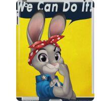 Zootopia - We can do it Judy Hopps iPad Case/Skin