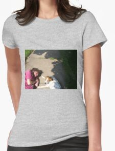 road kill Womens Fitted T-Shirt