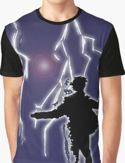 Digital Lightning  Graphic T-Shirt