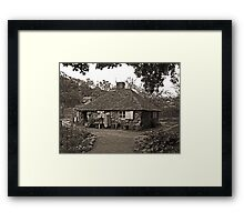 The Squatters Cottage Framed Print