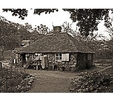 The Squatters Cottage Photographic Print