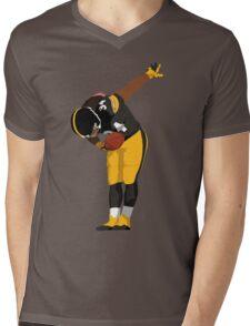 DeAngelo Williams Bow Art Mens V-Neck T-Shirt