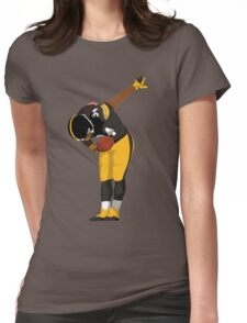 DeAngelo Williams Bow Art Womens Fitted T-Shirt
