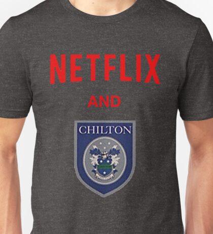 Netflix and CHILLton Unisex T-Shirt