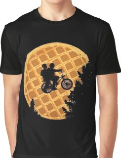 stranger things waffle moon Graphic T-Shirt