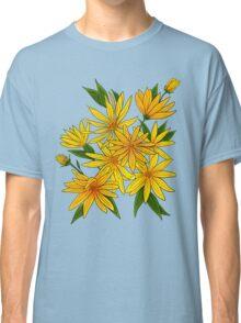 Jerusalem artichokes bouquet. Classic T-Shirt
