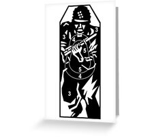 Charge Target Greeting Card
