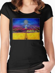 .Guide To The Western Lands. Women's Fitted Scoop T-Shirt