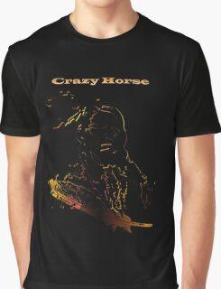 Crazy Horse T-Shirt Graphic T-Shirt