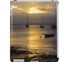 Sunset Savusavu Harbour (Landscape)  iPad Case/Skin