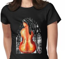 Cello Love Womens Fitted T-Shirt