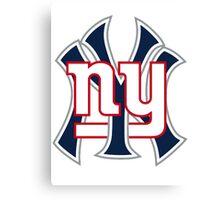 New york Sports Canvas Print