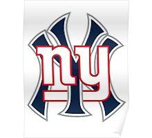 New york Sports Poster