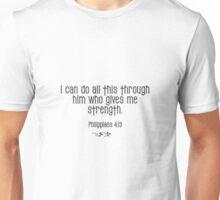 Philippians 4:13 bible verse Unisex T-Shirt