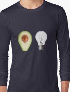 Random avocado and lightbulb Long Sleeve T-Shirt