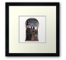 SHADOW HAND Framed Print