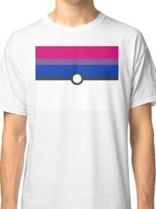 LGBT+ Bi Pride PokeBall Classic T-Shirt