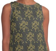 tarot suits Contrast Tank