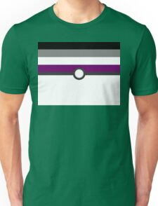 LGBT+ Ace Pride PokeBall Unisex T-Shirt