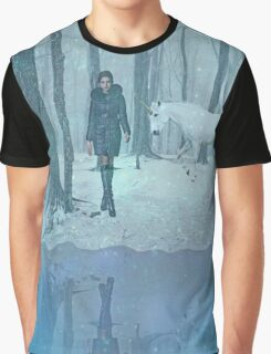 Winter arrived, and there was a ... Graphic T-Shirt