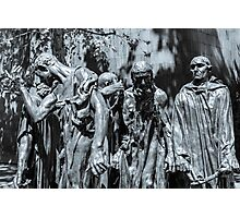 The Burghers of Calais Photographic Print