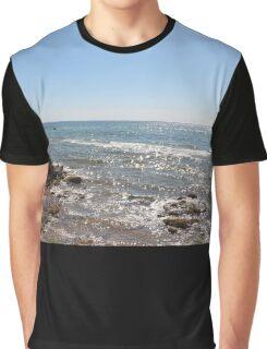 Glistening Ocean Graphic T-Shirt