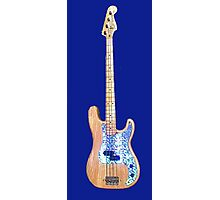 78 Fender P-Bass Photographic Print