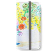 Flowers in a Vase iPhone Wallet/Case/Skin