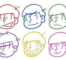 Neon Matsus by geekmythology