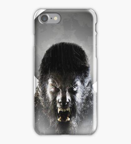 Werewolf Halloween T-Shirt iPhone Case/Skin
