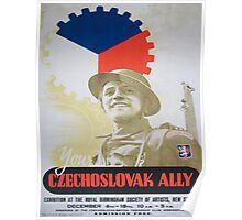 Vintage poster - Your Czechoslovak Ally Poster