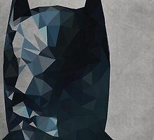 Geometric Batman by Likewater7