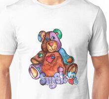 Patches Teddy Bear  Unisex T-Shirt