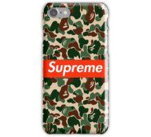 BAPE x Supreme iPhone Case/Skin