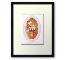 Adventure Time Fionna and Gumball Framed Print