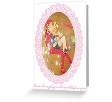 Adventure Time Fionna and Gumball Greeting Card