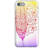A Feather in the Wind iPhone Case/Skin