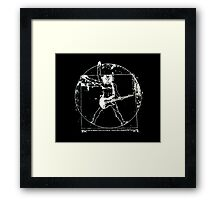 Da Vinci Rocks! Framed Print