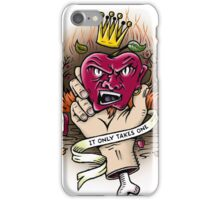 One bad apple will spoil the whole bunch iPhone Case/Skin