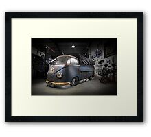 Phil Mizzi's 1954 Volkswagen Kombi Single-Cab Framed Print