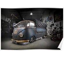 Phil Mizzi's 1954 Volkswagen Kombi Single-Cab Poster