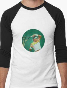 Nadal Stain Glass Men's Baseball ¾ T-Shirt