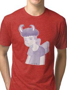 Pastel Pixie Punk Boy Tri-blend T-Shirt