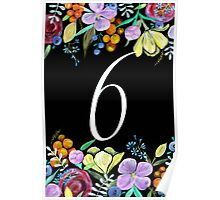 Number 6 Poster