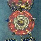 Tudor Rose iPhone Case by ©The Creative  Minds
