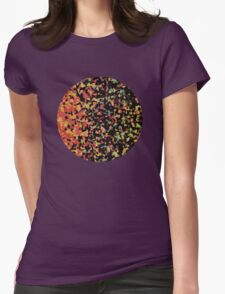 Dark Side of the Sun Womens Fitted T-Shirt