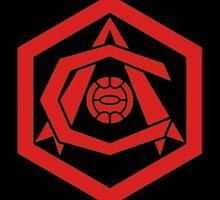 Arsenal Art Deco Sticker